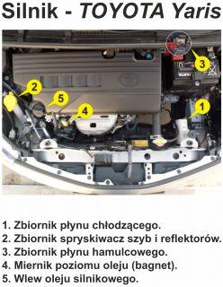 Silnik Toyota Yaris