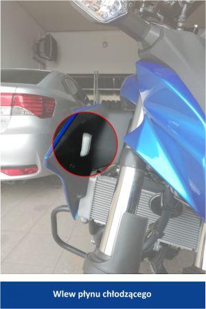 Kawasaki 125 wlew plynu ch